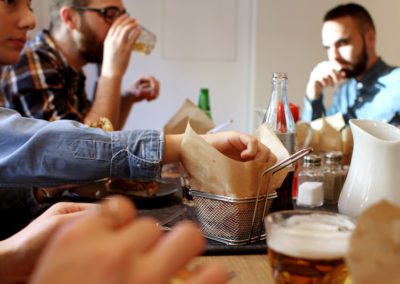 Un Pure Burger et des amis